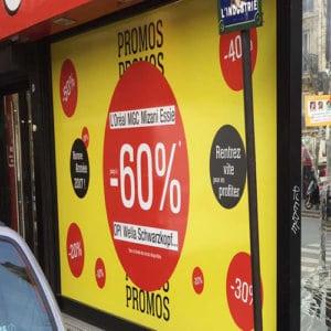 autocollant vitrine magasin tunisie