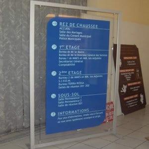 panneau signalétique tunisie